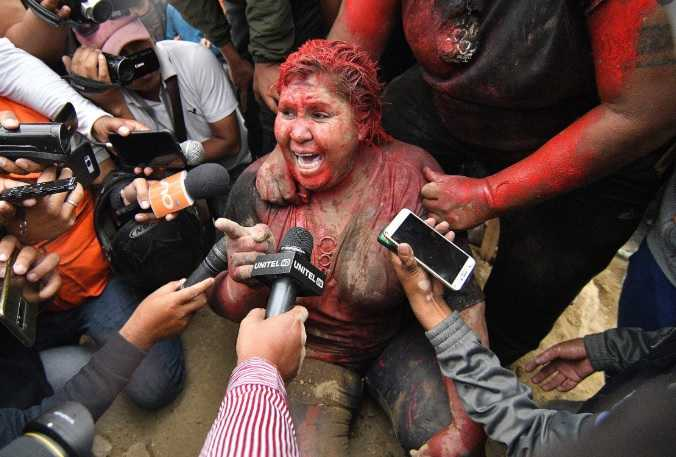 Bolivian Mayor attacked and Bolivian President Evo Morales resigns