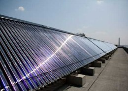What are solar water heaters and its market position?