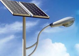 What is the market size of solar street lighting?
