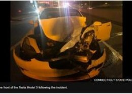 What can we learn from Tesla Model 3 car crash when it was on Autopilot?
