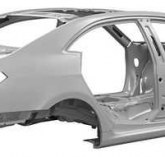 What is a body in white (BIW) means in the automotive industry?