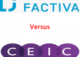 CEIC vs Factiva: Which is better and why?