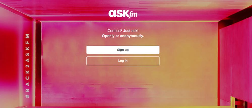 Askfm Q&A website