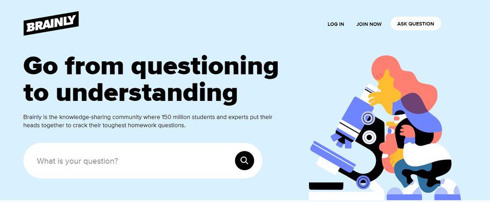 Brainly Q&A website
